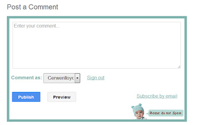 customize comment box in blogger