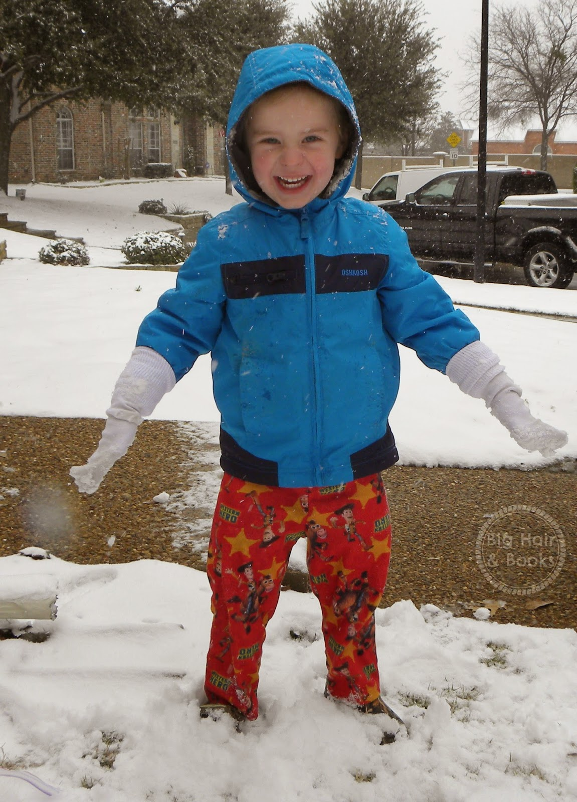 Snow Day in Texas!