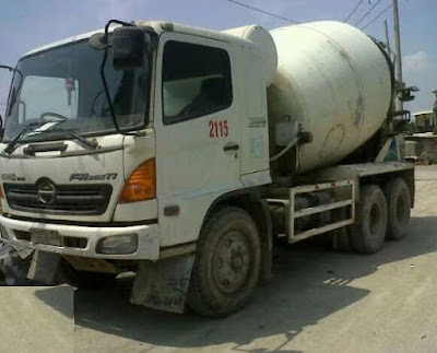 Jual Truck Mixer Bekas