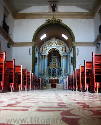 Interior da Igreja Matriz de São Cristóvão - Sergipe