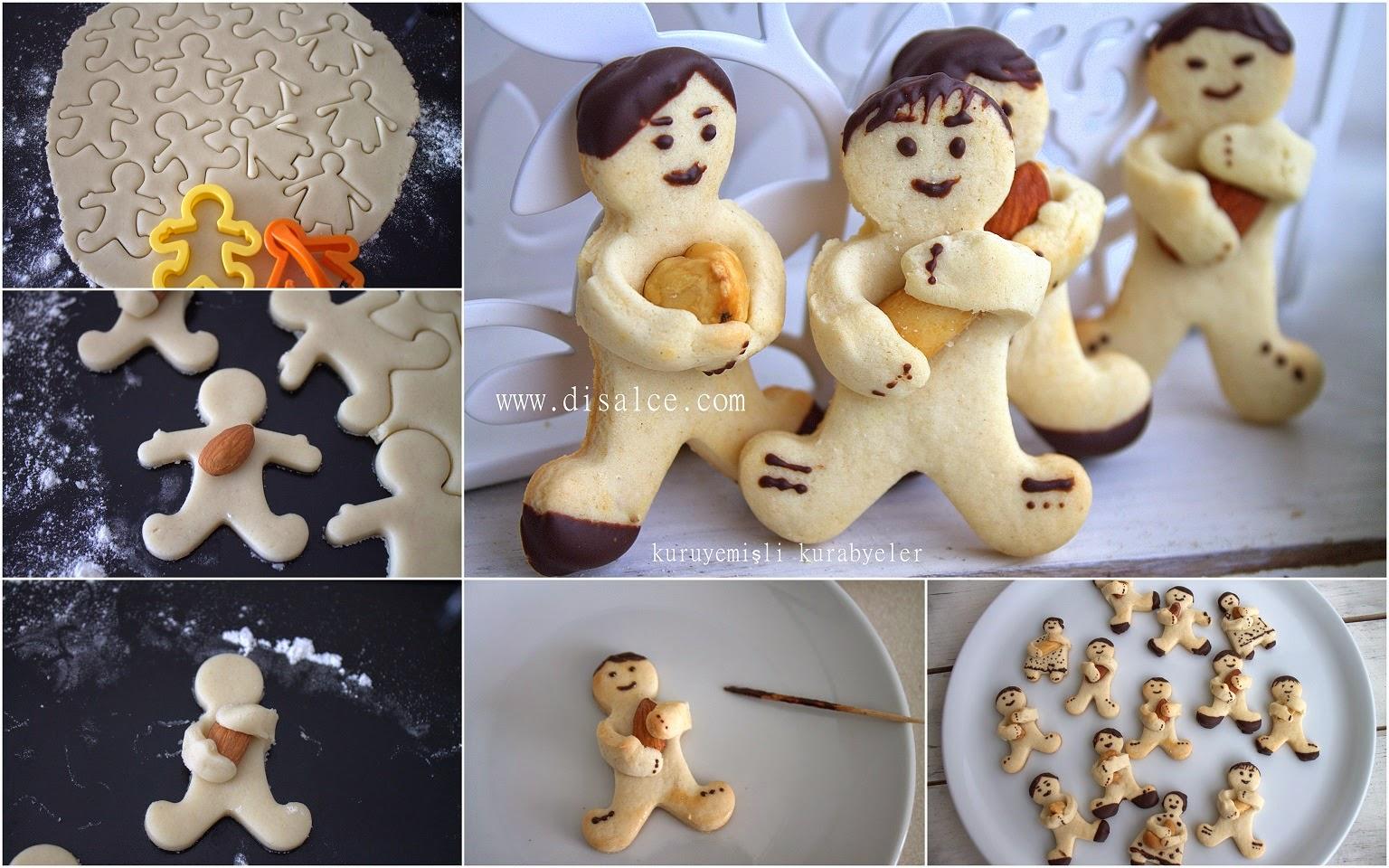 bademli fındıklı kurabiye