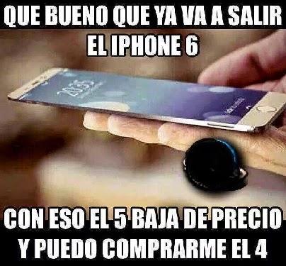 Salio iphone 6 asi compro el 4