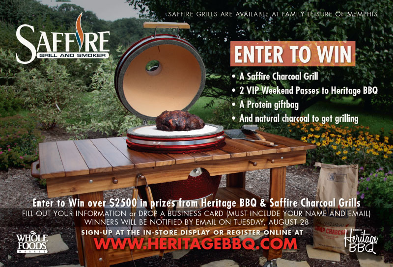 SAFFIRE GRILL SWEEPS FOR HERITAGE BBQ | COCHON US TOUR - BLOG, EAT ...