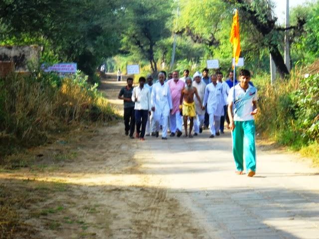 Bharat Parikrama Yatra: Maa. Sitaram Kedilaya now in Haryana