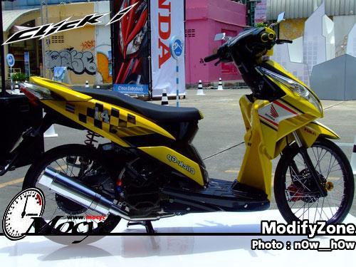 Mio Pelek 17 tdr   Pelek 17 Yamaha Mio aliran Thai Look Style