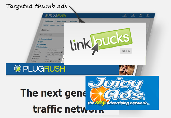 Maximixe Earnings of Your Blog Through LinkBucks-Plugrush-JuicyAds Combos Tips and Tricks
