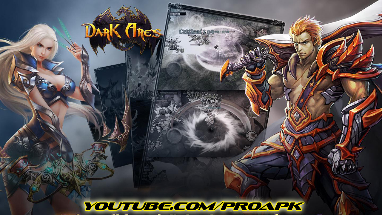 Dark Ares English Gameplay IOS / Android
