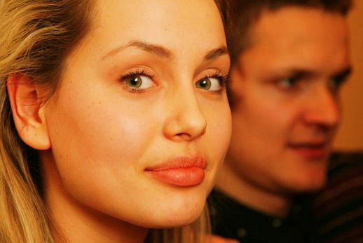 modelo Tatyana Vorzheva, a Angelina Jolie ucraniana