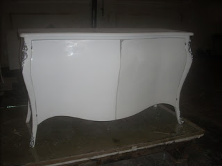 white duco finish