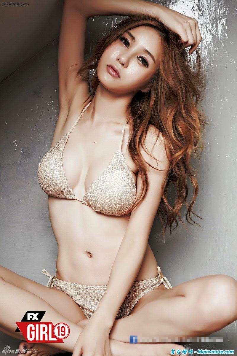 Charming hot Korean girls Pak Yu Shao