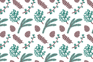 The Pine Pattern by Haidi Shabrina