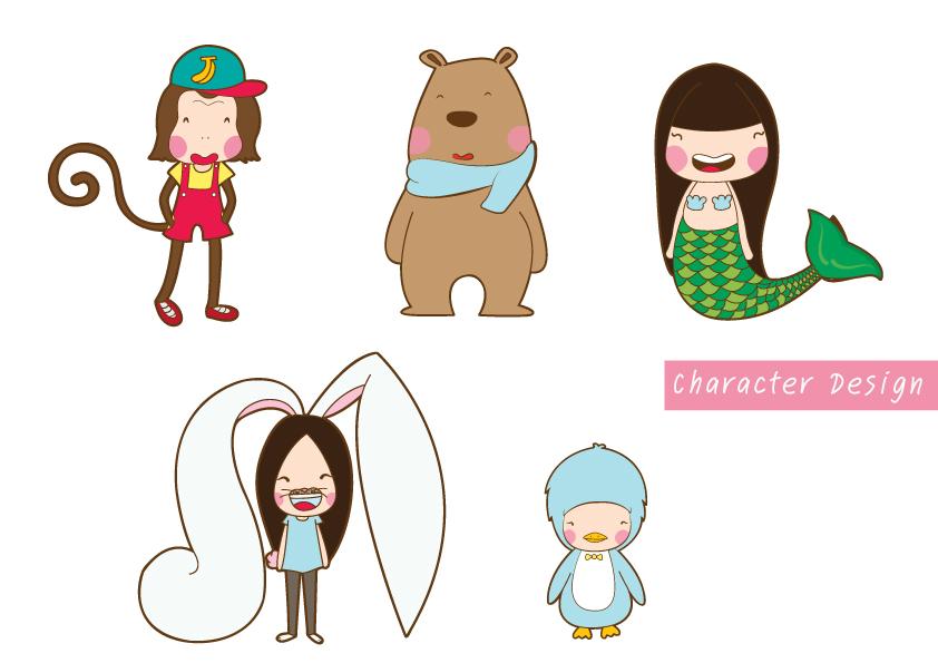 Character Design Research : Character design research children book