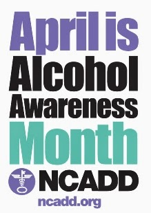 NCADD poster - April is Alcohol Awareness Month