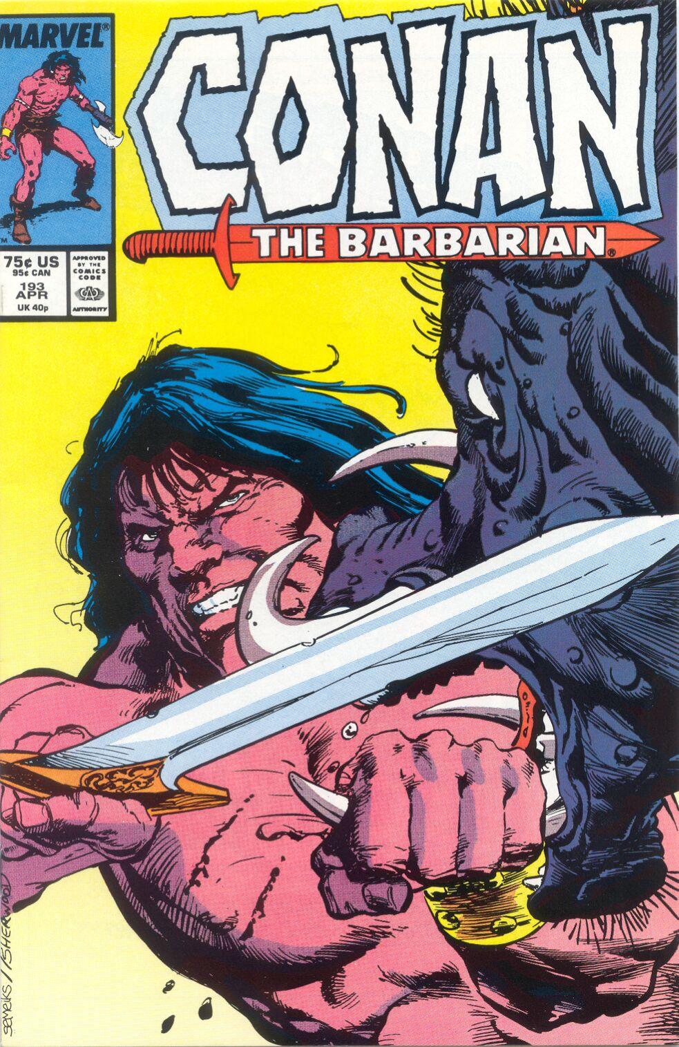 Conan the Barbarian (1970) Issue #193 #205 - English 1