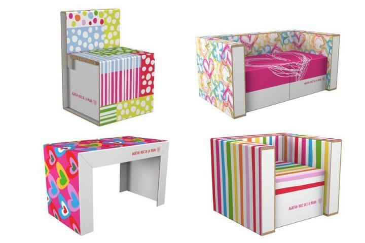 baos infantiles agatha ruiz de la pradadetrs de mi puerta muebles y juguetes de carton para los nios baos infantiles agatha ruiz de la prada