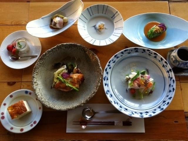 コース料理一例。