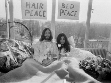 John Lennon y Yoko-Ono