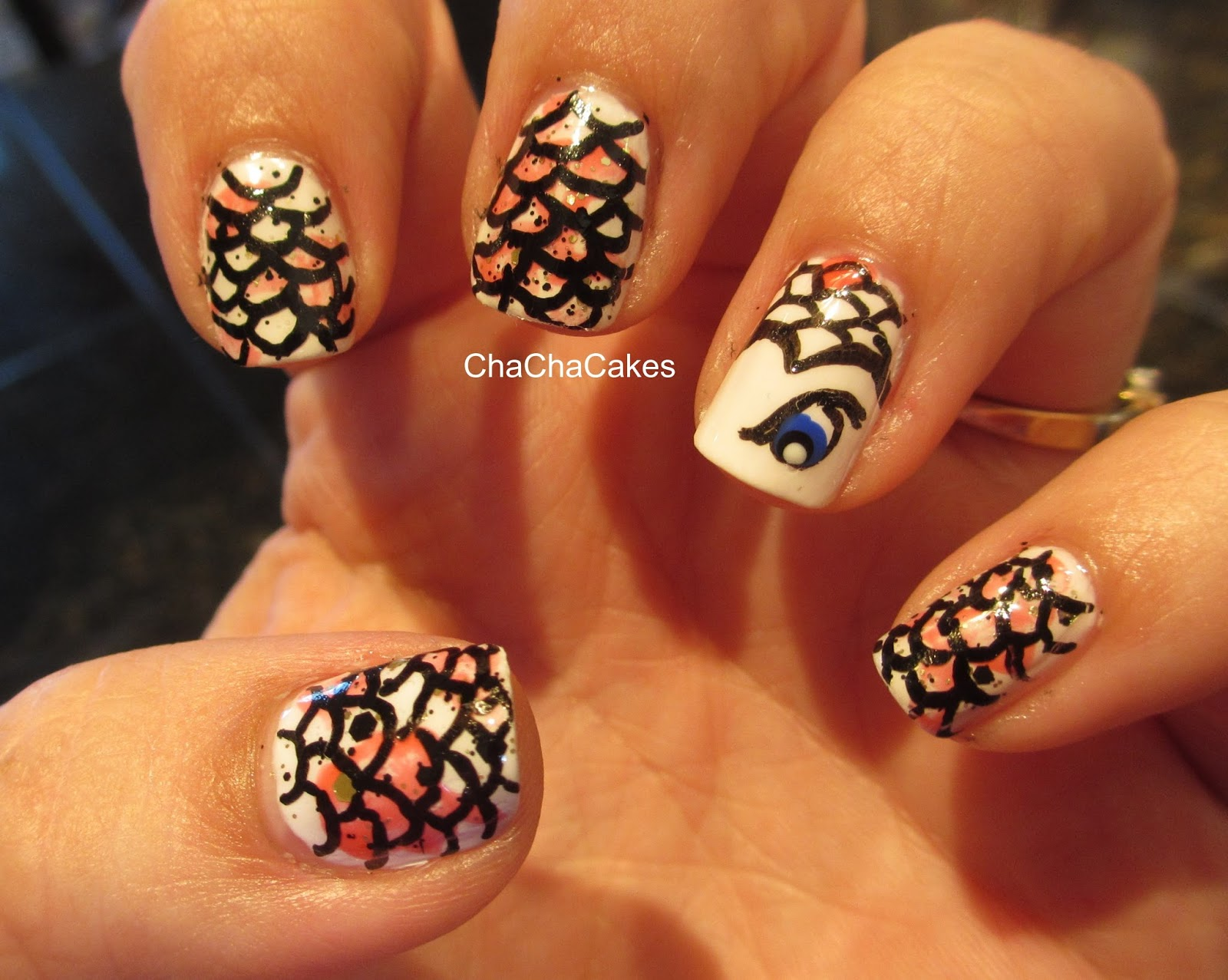 Cha Cha Cakes Nails: Day 13 in the 31 Day Nail Art Challenge