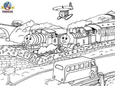Percy tank James & Thomas pictures Free coloring pages for boys fun worksheets for kids to print