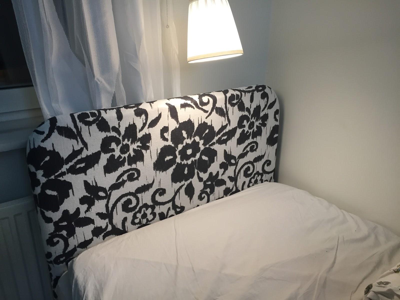 Karins hem& trädgård Odla, bygg och inspireras! Bygg sänggavel så lätt och byt tyg när du vill!