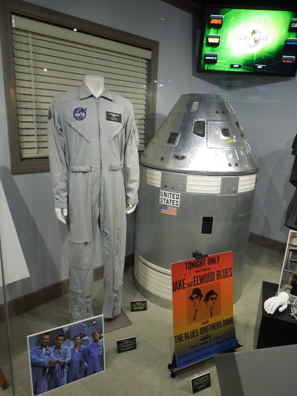 Apollo 13 NASA jumpsuit and props