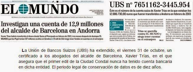 El alcalde de Barcelona demuestra que la información es falsa