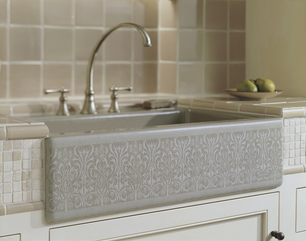 Cupboards Kitchen and Bath: Apron Sink Trends - Kohler