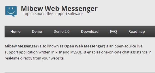Mibew web massenger