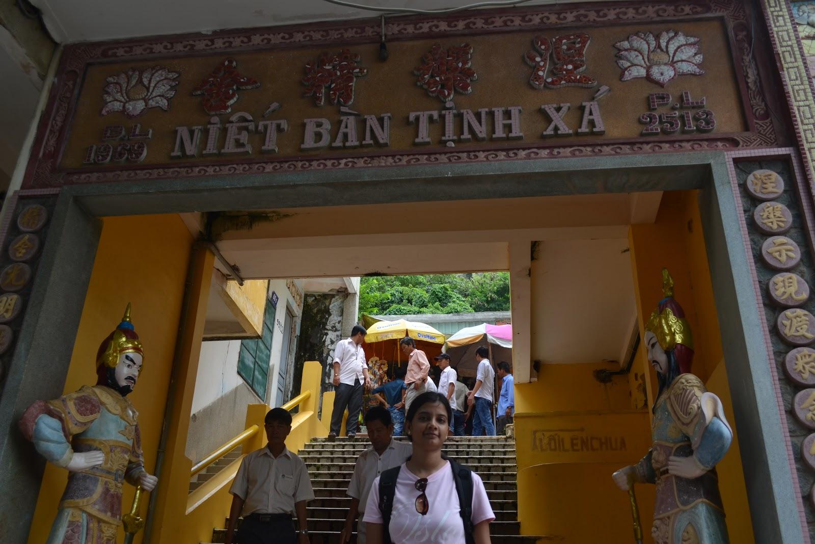 Niet ban tinh pagoda, Vung tau