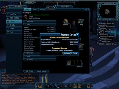 Star Trek Online - Promoting Bridge Officers