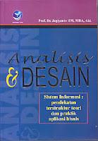 toko buku rahma: buku ANALISIS DAN DESAIN,pengarang jogiyanto, penerbit andi