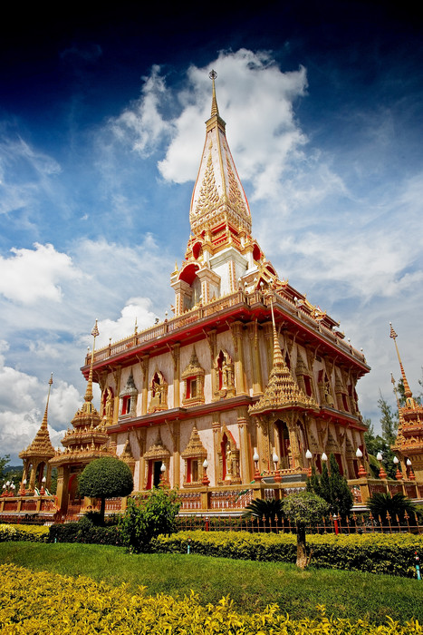 Phuket Blog Info: Le Temple de Chalong / Wat Chalong - Phuket - Thaïlande