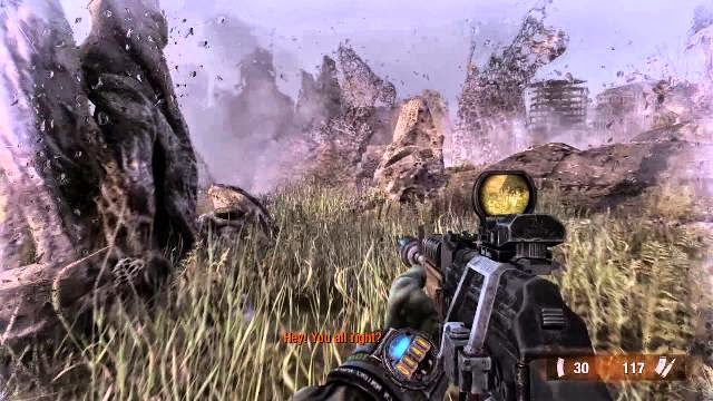 Metro Last Light Redux PC Games Gameplay