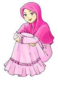 Sumber: gambar kartun muslimah ; google ; berita unik