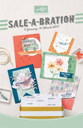 2017 Sale-a-bration Catalogue