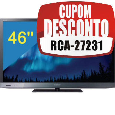 TV 46 LED Full HD Sony KDL-46EX525