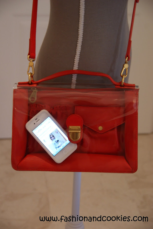 See thru bags, Marc by Marc Jacobs transparent bags, Fashion and Cookies