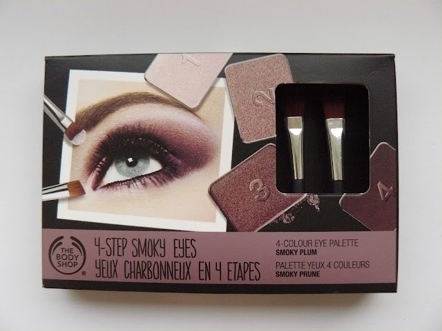 The Body Shop Christmas Collection: Smokey Plum 4 Colour Eye Palette