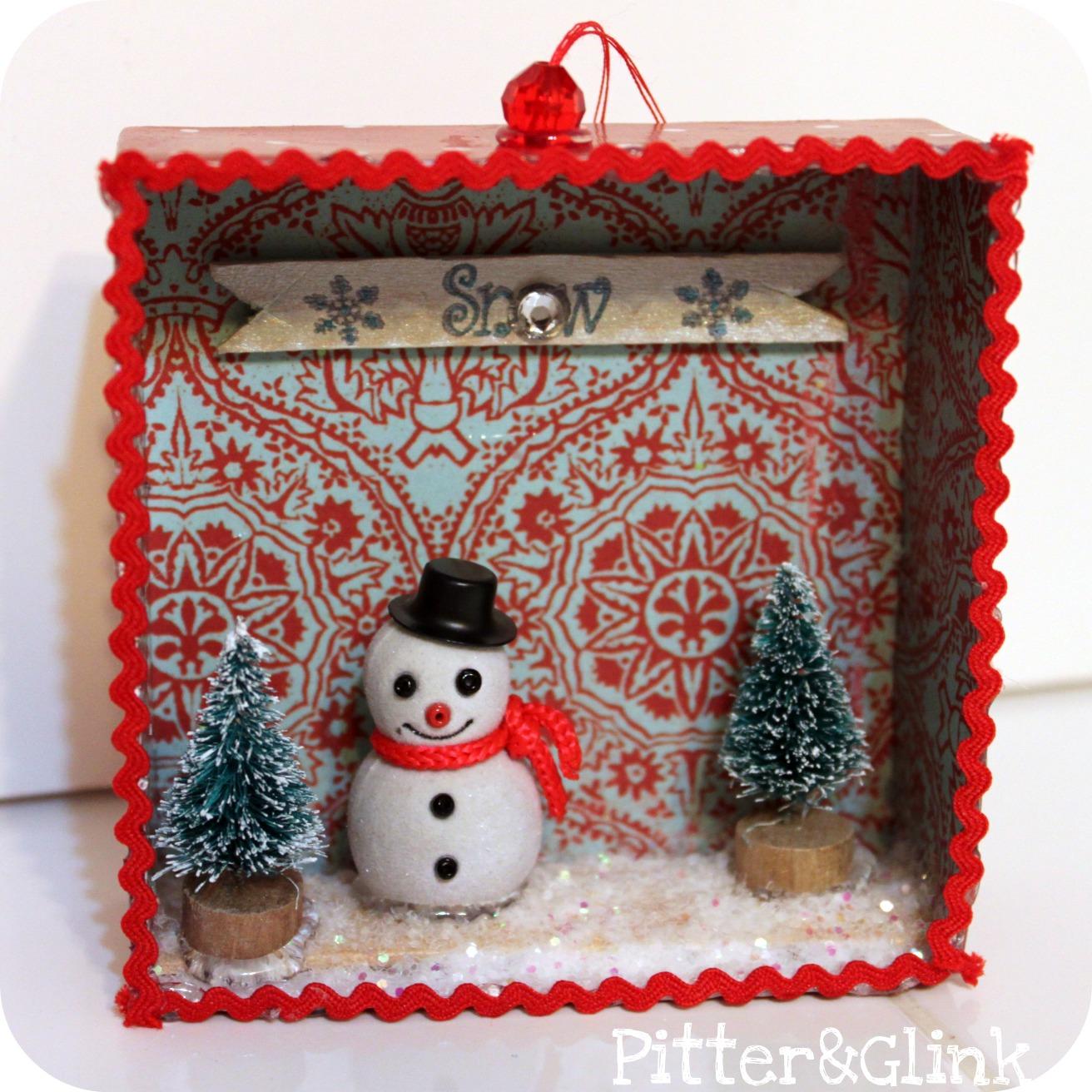 Pitterandglink gift box ornaments