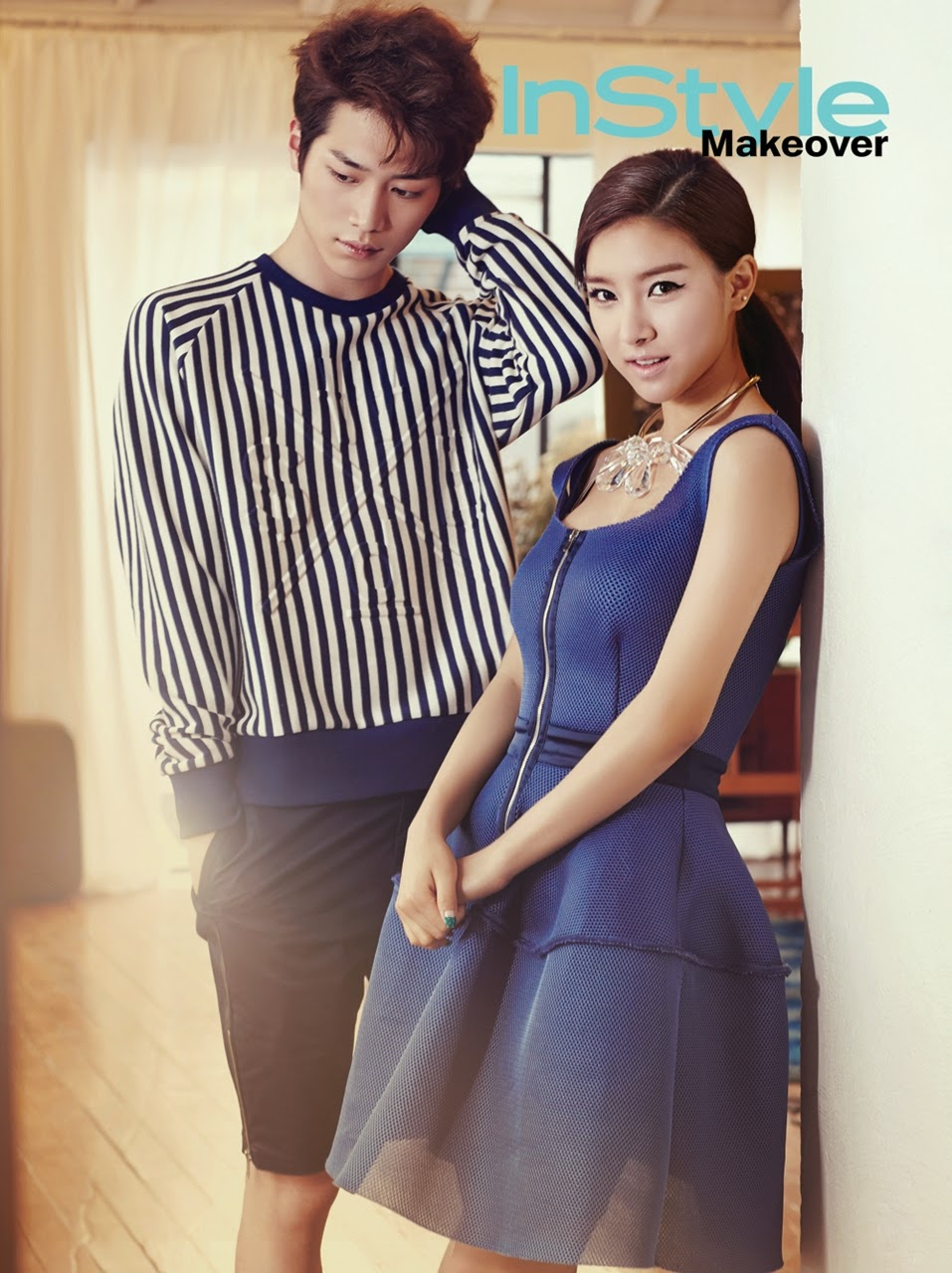Kim So Eun Seo Kang Joon - InStyle June 2014