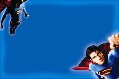 tarjeta cumpleaños superman