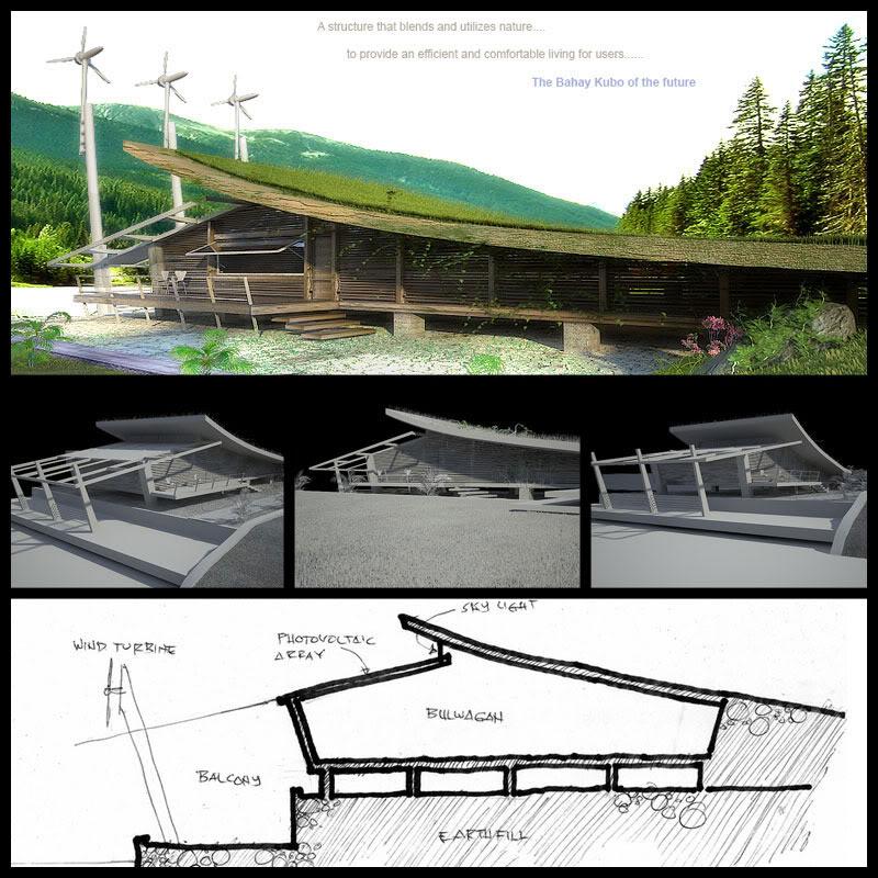 Futuristic Bahay Kubo HOUSE DESIGN
