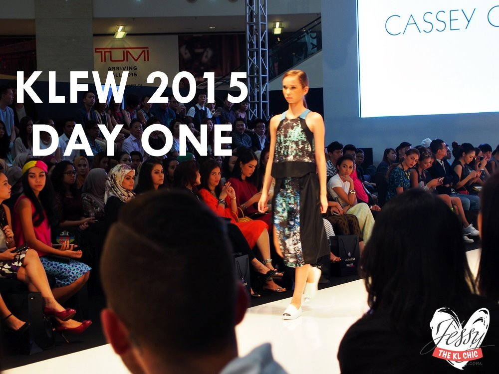 KLFW 2015: Day 1 & Who Wore What