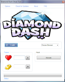 Diamond Dash Cheats and Hack