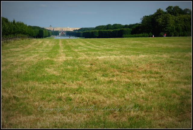 Château de Versailles vu de la grille royale