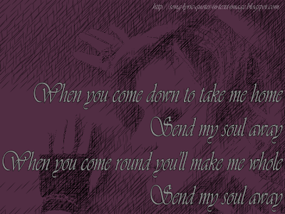 Out Of Exile - Audioslave Song Lyric Quote in Text Image