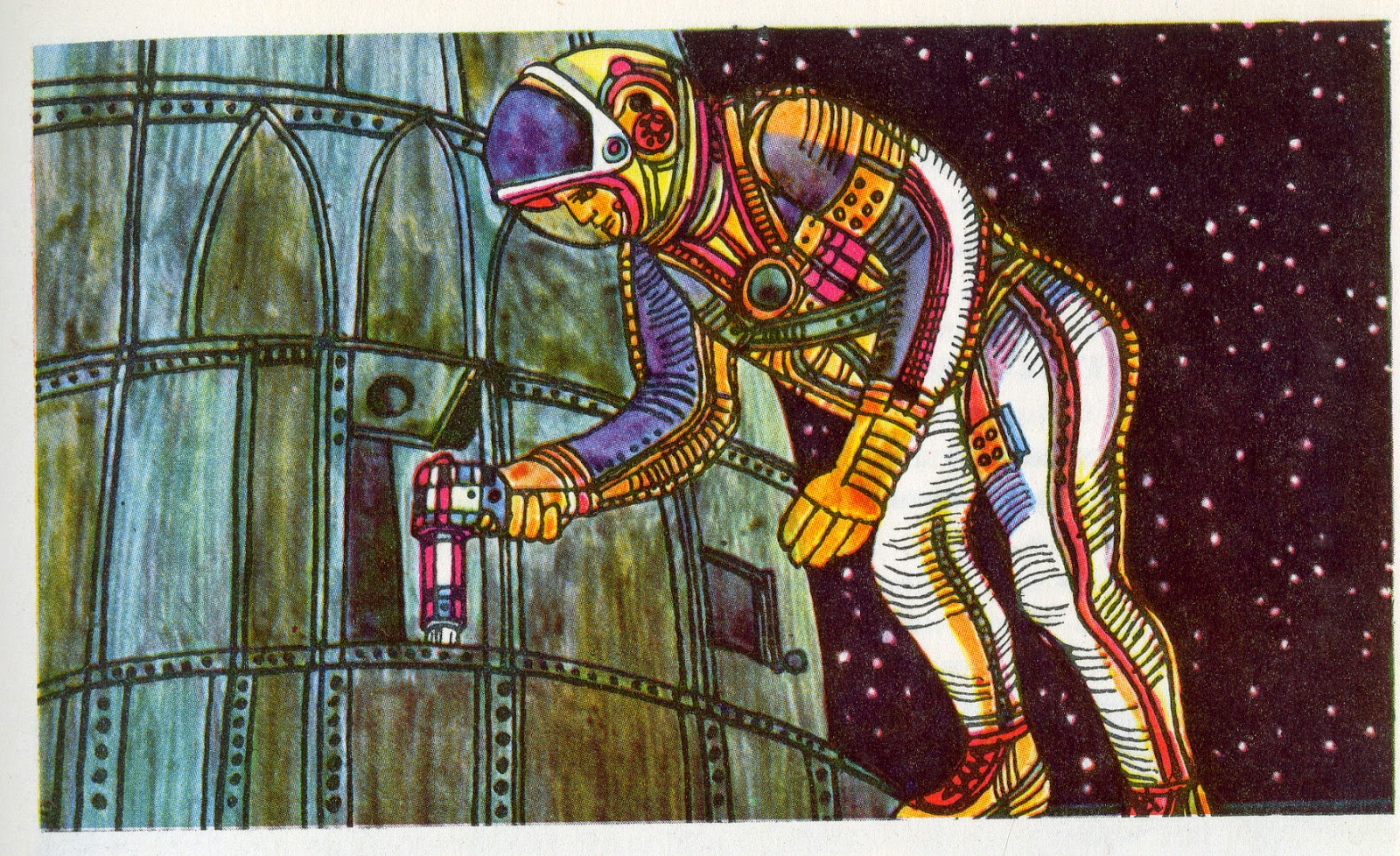Dreams of Space - Books and Ephemera: On the Spacecraft ...