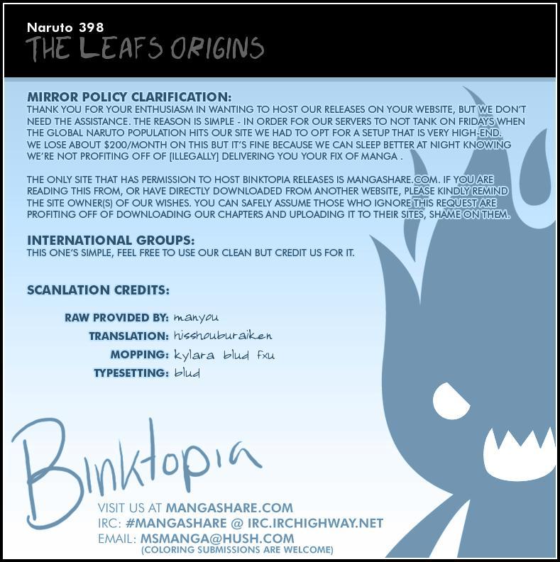 Naruto chap 398 Trang 21 - Mangak.info