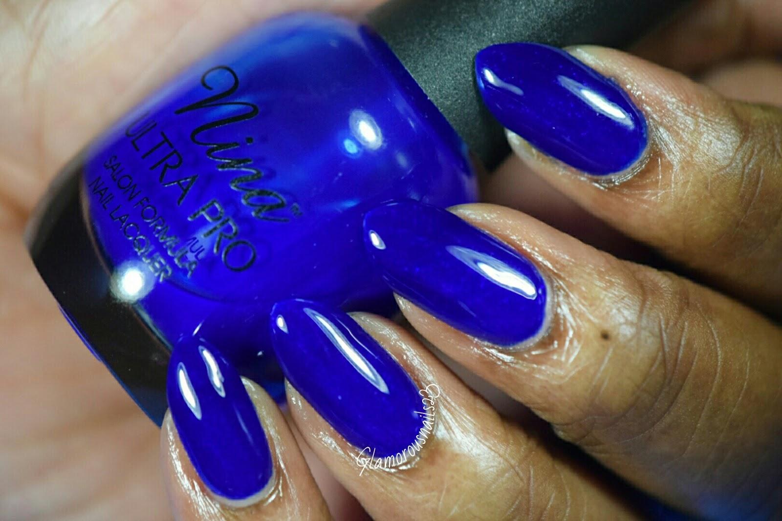 Nina Ultra Pro Cobalt - Glamorousnails23