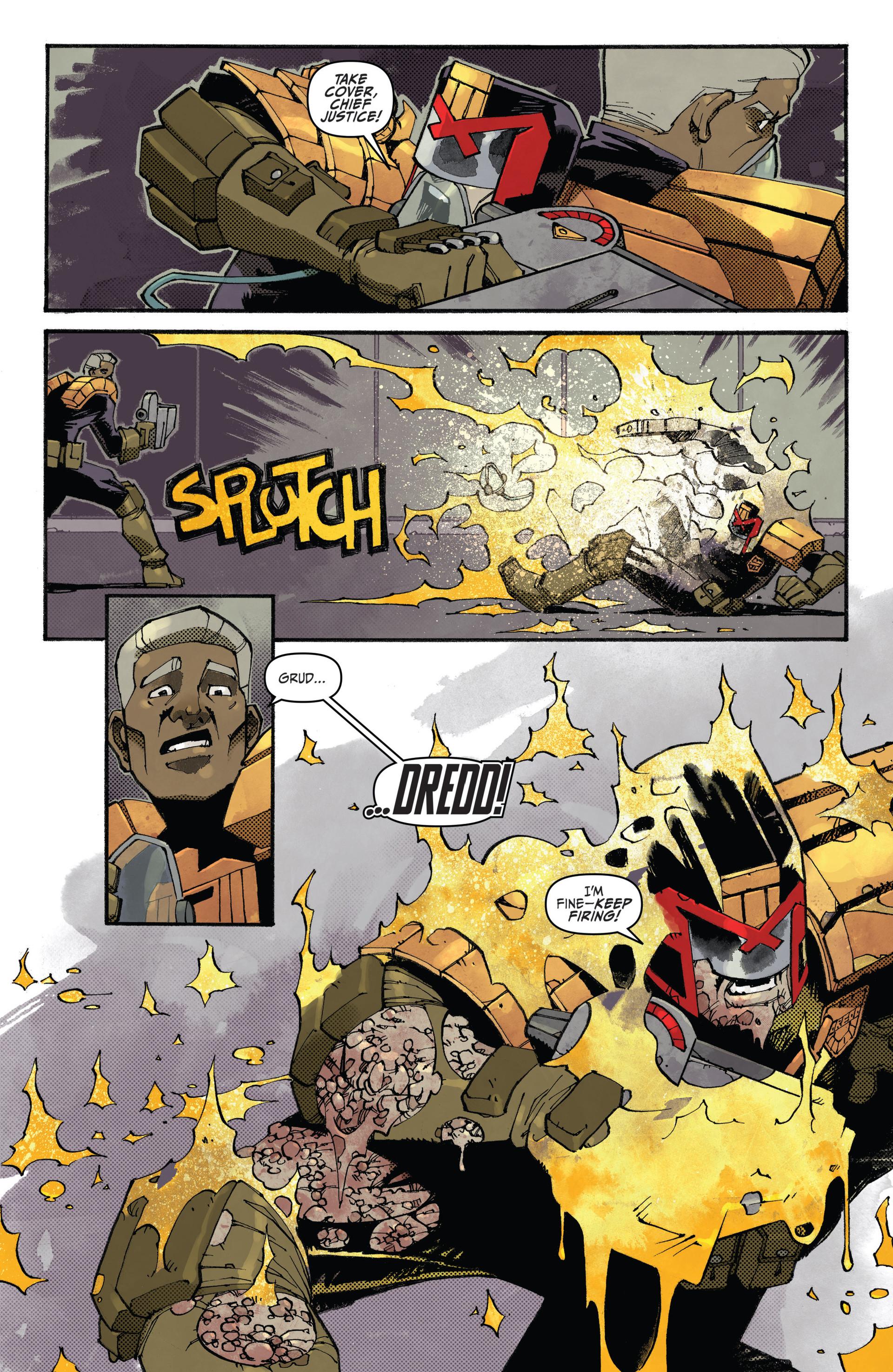 Read online Judge Dredd (2012) comic -  Issue #20 - 19